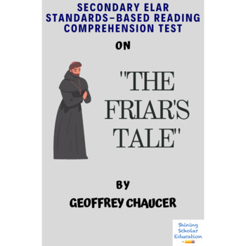 The Friar's Tale from The Canterbury Tales Reading Comprehension Test Quiz