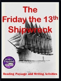 The Friday the 13th Shipwreck: Close Reading and Writing A