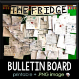The Fridge Math Classroom Bulletin Board of Success!