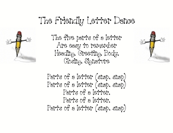 The Friendly Letter Dance