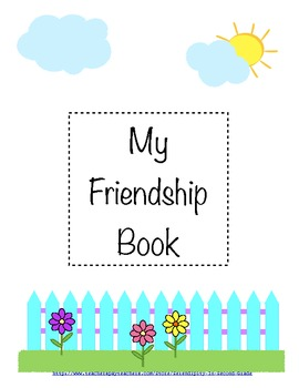 The Friendship Book for Fostering Positive Peer Relationships ~ Good Character