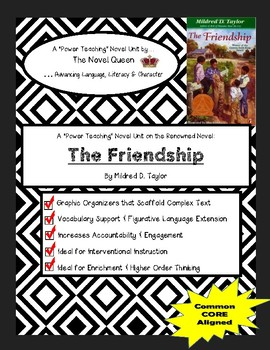 The Friendship by Mildred D. Taylor--Complex Text Novel Unit
