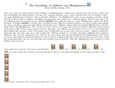 The Friendship of Addition and Multiplication Story