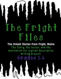 The Fright Files: A Spooky Halloween Narrative/Descriptive Writing Project