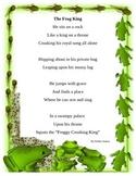Frog Poem to enhance reading