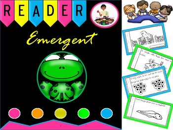 The Frog Life Cycle Emergent Reader