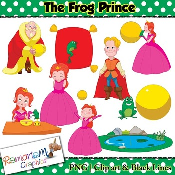 The Frog Prince Clip art