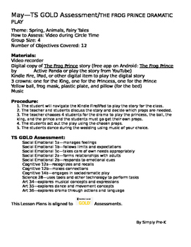 The Frog Prince Dramatic Play Teaching Strategies GOLD® Aligned Lesson Plan