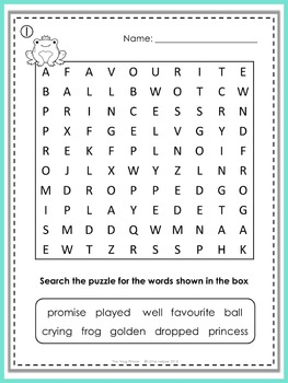 The Frog Prince Puzzle Fun