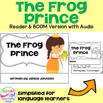 The Frog Prince Reader ~ Simplified for Young Learners