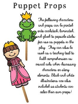 The Frog Prince Readers Theater & Story Unit