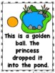 The Frog Prince (Emergent Reader, Teacher Lap Book, & Picture Cards)