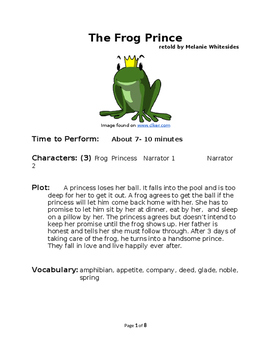 The Frog Prince - Small Group Reader's Theater