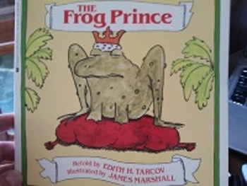 The Frog Prince retold by Edith H. Tarcov