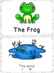 The Frog - a leveled reader & activities