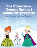 The Frozen Snow Queen's Phonics and Handwriting Practice