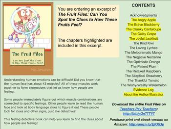 The Fruit Files: Can You Spot the Clues to How These Fruits Feel? * EXCERPT #1 *