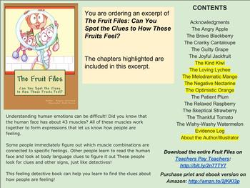 The Fruit Files: Can You Spot the Clues to How These Fruits Feel? * EXCERPT #2 *