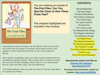The Fruit Files: Can You Spot the Clues to How These Fruits Feel? * EXCERPT #3 *