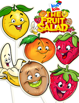 Play Script, The Fruit Salad, An Act-It-Out play