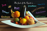 The Fruit of the Spirit Christian Inspirational Poster