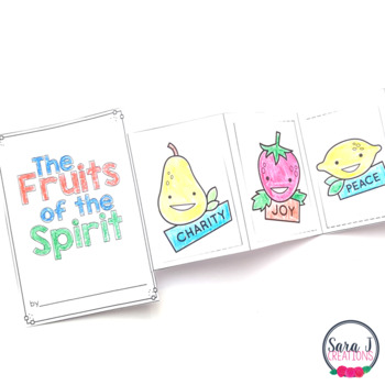 The Fruits of the Spirit Mini Book