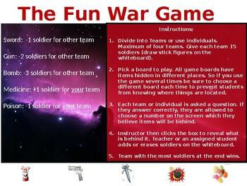 The Fun War Game