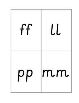 The Fun of Phonics Set 2 different spelling flashcards (small set)