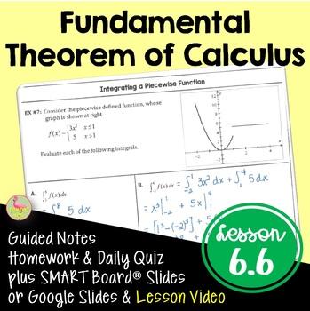 Calculus: The Fundamental Theorem