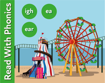 The Funfair: Reinforces The Phonic Sounds ea and ear (as in seat and dear)