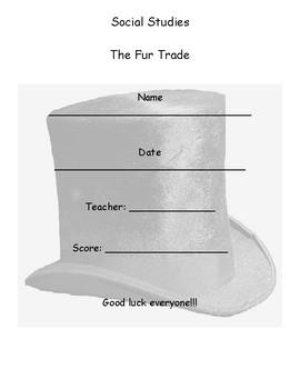 The Fur Trade Mini Assessment