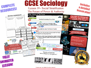 The Future of Power & Authority - Social Stratification (GCSE Sociology - 19/20)