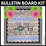 The Future of the World | Bulletin Board Kit | Classroom D
