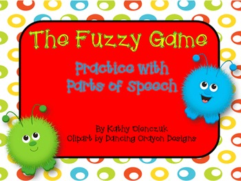 Parts of Speech - A Language Smartboard Game