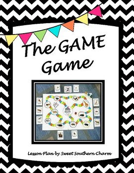 The GAME Game Art Lesson Plan by Sweet Southern Charm