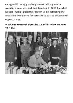 The GI Bill Handout