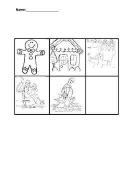 The GIngerbread Boy Story Map