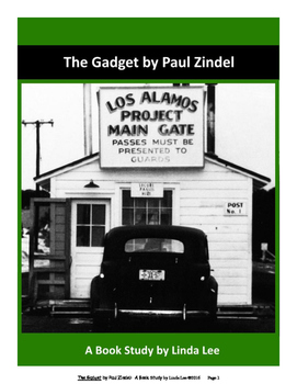 The Gadget by Paul Zindel:  A Book Study