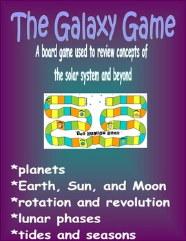 The Solar System Board Game: The Galaxy and Beyond