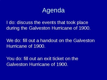 The Galveston Hurricane of 1900
