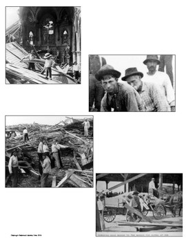 The Galveston Hurricane of 1900 Primary Source and Image Analysis