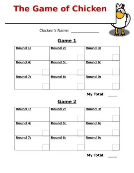 The Game of Chicken