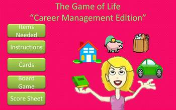 The Game of Life (Career Management Edition)