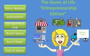 The Game of Life (Entrepreneurship Edition)