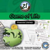 The Game of Life -- Financial Literacy - 21st Century Math Project