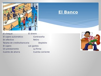 The Game of Life - Spanish Power Point Lesson
