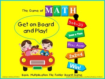 The Game of Math (Multiplication)
