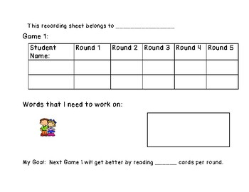The Game of S.P.A.M.: A fluency building game for K-2 Learners (Version 2)