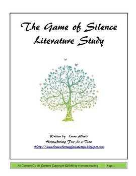 The Game of Silence Literature Study
