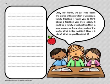 The Game of Silence - Tri-Folds + Activities ( 4th Grade Reading Wonders )